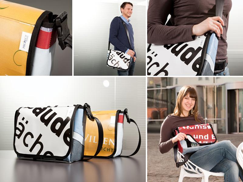 PROJECTImmobilien RecyclingTaschen_Pressebild