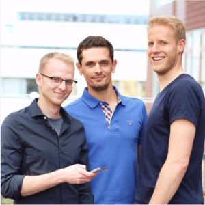 Die Gründer des Berliner Start-Ups poqit